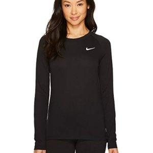 Nike Dri-Fit Black Long Sleeve Top